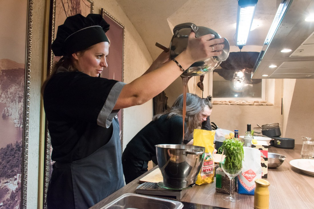 Кулинарная студия в спб мастер класс